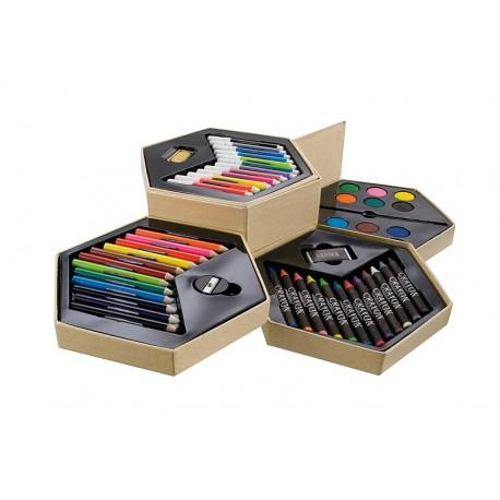 Zestaw ARTIST (kredki, pisaki, farby)