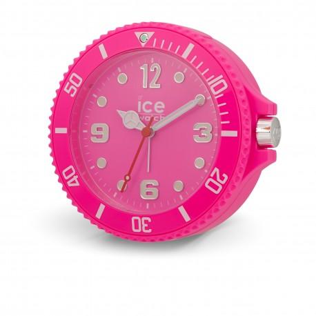 Zegarek z budzikiem ICE IW-Neon Pink-13cm