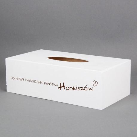 Pudełko na chusteczki - Domowy Chustecznik