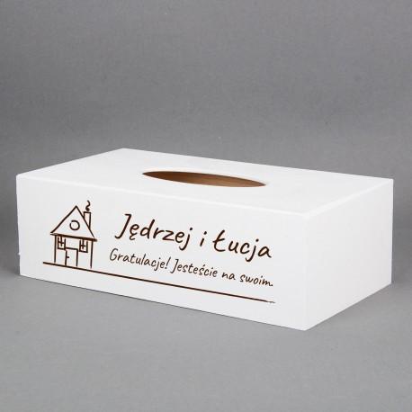 Pudełko na chusteczki - Jesteście na swoim