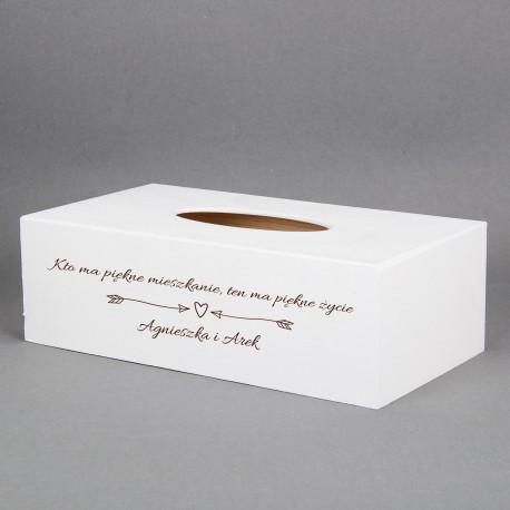 Pudełko na chusteczki - Piękne mieszkanie