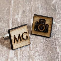 Spinki personalizowane dla Fotografa