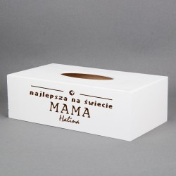 Pudełko na chusteczki - Najlepsza Mama