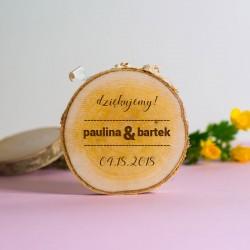 Magnes brzoza na wesele Love wood