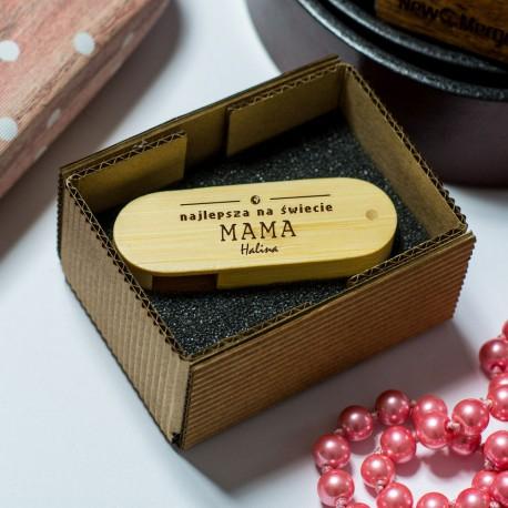 Pamięć USB z grawerem Najlepsza Mama na Świecie