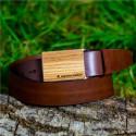 Pasek drewniany Dąb - Prezent dla Nauczyciela