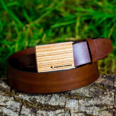 Pasek drewniany Jesion - Prezent dla Nauczyciela