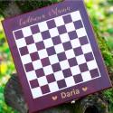 Grawerowany zestaw do wina z szachami prezent dla Mamy