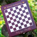 Zestaw do wina z szachami dla mamy kocham Cię