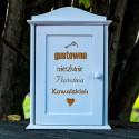 Skrzynka na klucze Gustowne Mieszkanie - prezent na parapetówkę