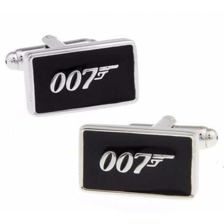 Spinki do mankietów Agent 007