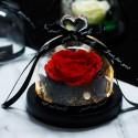Czerwona wieczna róża prezent na walentynki