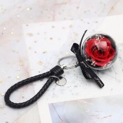 Czerwona wieczna róża prezent na Dzień Kobiet